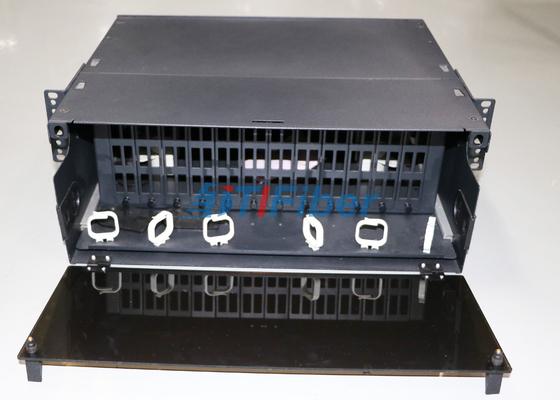 4U MTP/MPO繊維のためのしょう動の繊維光学のパッチ盤カセット モジュール